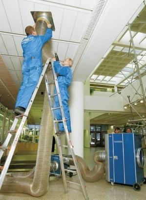 очистка систем вентиляции в москве