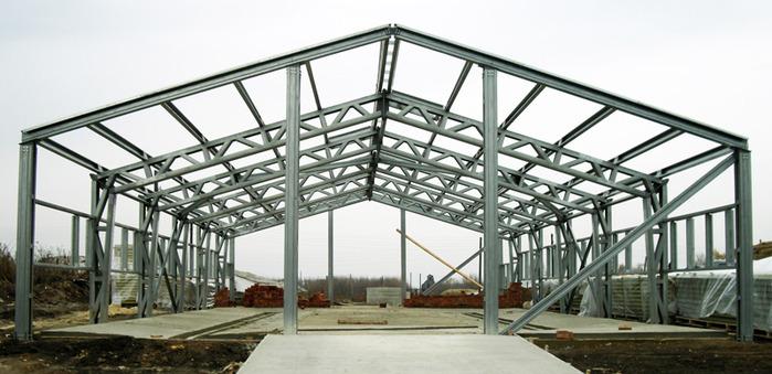 Преимущества зданий из металлоконструкций